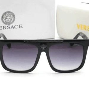 Brand New VERSACE Sunglasses BLACK/SOLID GRAY